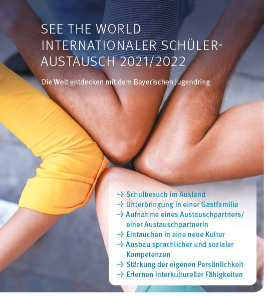 SEE THE WORLD 2021/2022 DIN A3-Plakat
