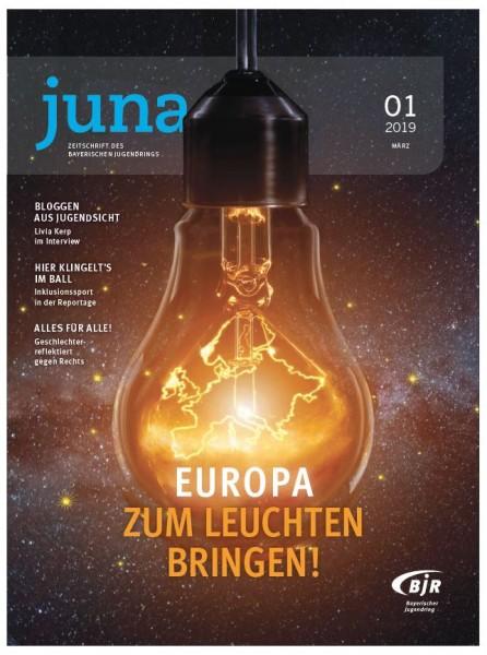 juna # 1.19 - Europa zum Leuchten bringen!