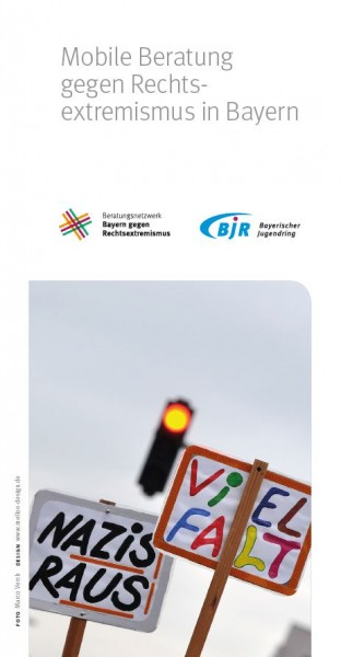Mobile Beratung gegen Rechtsextremismus in Bayern - Flyer