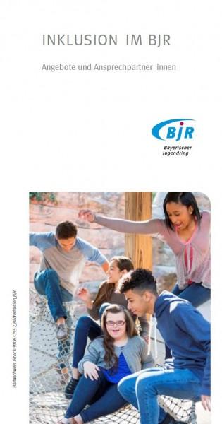 Inklusion im BJR - Angebote_Flyer
