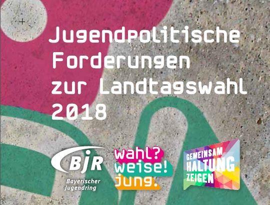 Jugendpolitische Forderungen zur Landtagswahl 2018 - Forderungskarten